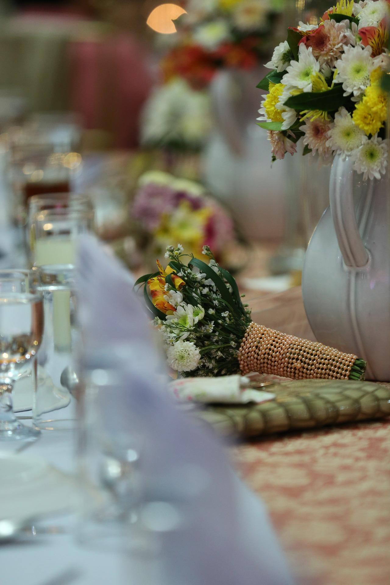 kwiaty wesele ślub